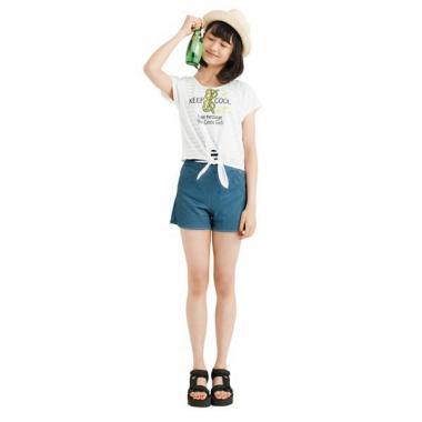 【50%OFF】前縛りTシャツ&タンキニ4点セット