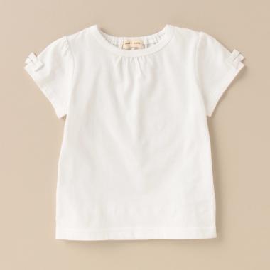 オーガニックバックフリルTシャツ
