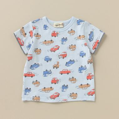classic carsプリントTシャツ