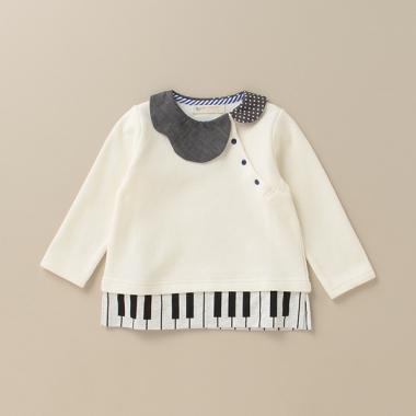 piano衿チュニック