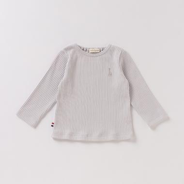 プリーツフライス長袖Tシャツ