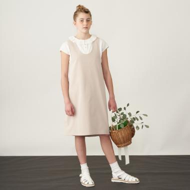 【AMI】バッククロスオーバースカート