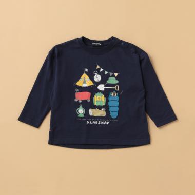 キャンプ長袖Tシャツ