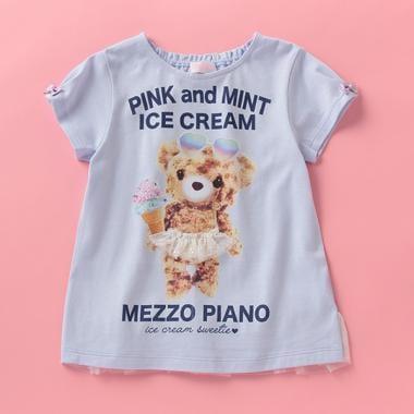 アイスクマさんプリントTシャツ