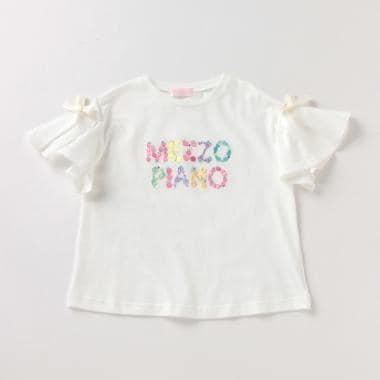 フルーツロゴフレア袖Tシャツ