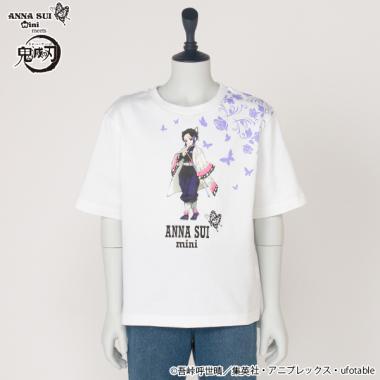 【鬼滅の刃】 胡蝶しのぶプリントTシャツ