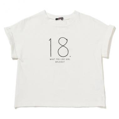 【50%OFF】ドルマンスリーブプリントTシャツ