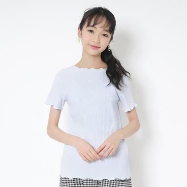 メローロックテレコ半袖Tシャツ
