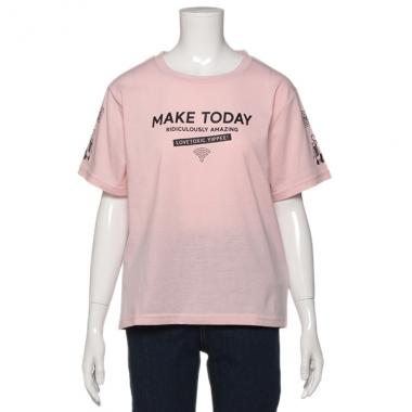 NARUMIYA ONLINE(ナルミヤオンラインで買える「ラブトキシック/モチーフロゴTシャツ」の画像です。価格は1,069円になります。