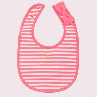 [For newborn] Striped Bib