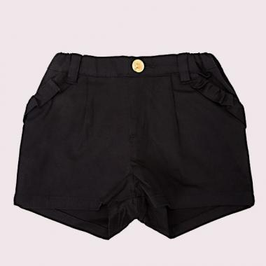 [For the baby] frills pocket shorts
