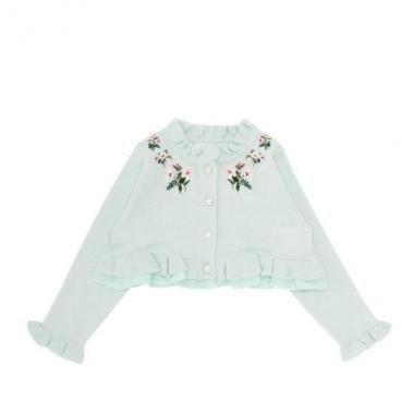 嬰兒弗洛拉刺繡開衫