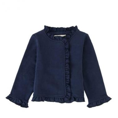 Infant short raffle jacket