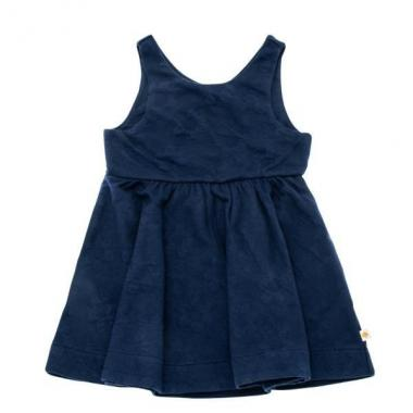 Infant Daisy jacquard dress
