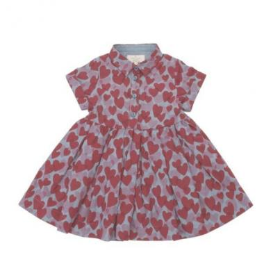 Infant Heart party dress