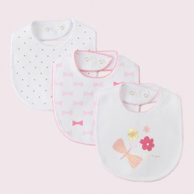 Reietto three-piece bib set