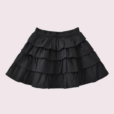 [For Toddler] Tiered Skirt