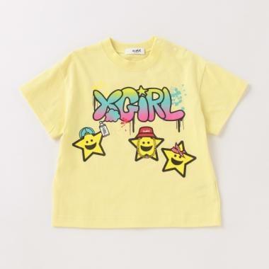 キラッキーモチーフ半袖Tシャツ