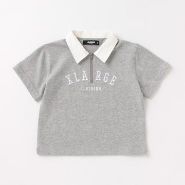 ワイドシルエットラガー半袖Tシャツ