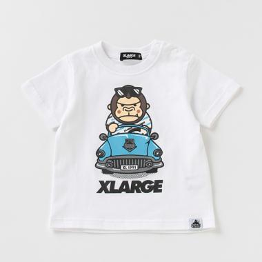 ファニーゴリラオープンカーTシャツ