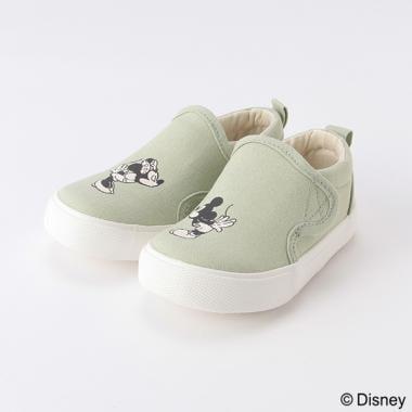 【Disney】ミッキー・ミニー/スリッポン