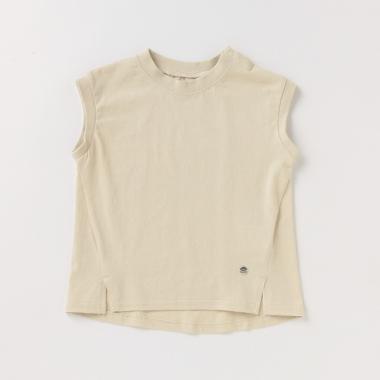 【リンク/接触冷感】裾スリットTシャツ