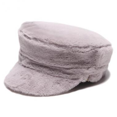 Fake fur Marine cap
