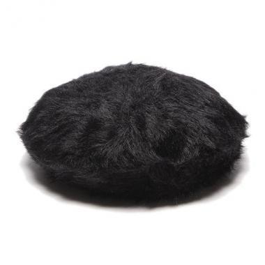 蓬鬆貝雷帽