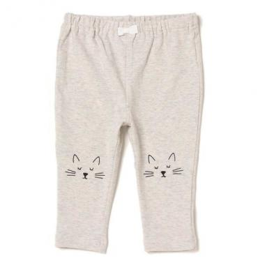 Knee cat design leggings