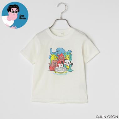 【OSON JUN】 10THアニマルプリントTシャツ