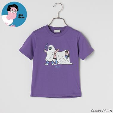 【OSON JUN】 おばけプリントTシャツ