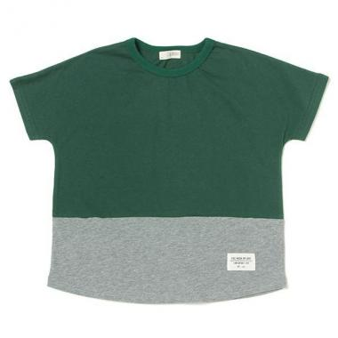 By color Wide T-shirt