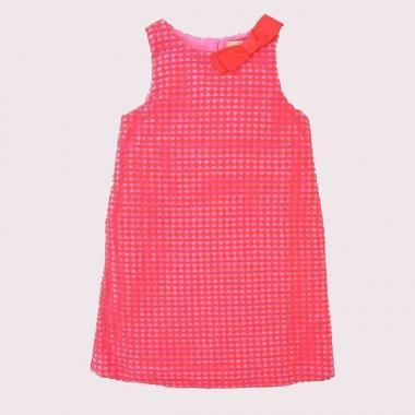 TODDLERS' GUIPURE LACE DRESS