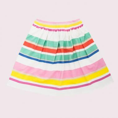 TODDLERS CAPE STRIPE SKIRT