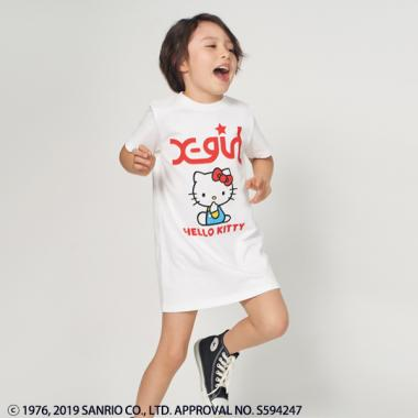 Hello Kitty Tシャツワンピース